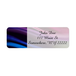 Colored Paper Abstract Label
