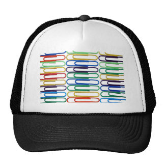 Colored Paperclips Hat
