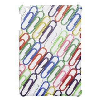 Colored Paperclips iPad Case
