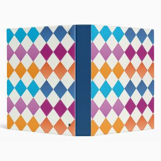 colored pattern binders