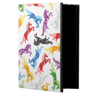 Colored Pattern jumping Horses Powis iPad Air 2 Case