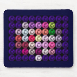 Colored PegsMousepad Mouse Pad