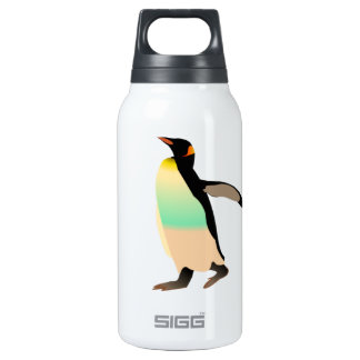 Colored Peguin 10 Oz Insulated SIGG Thermos Water Bottle
