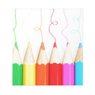 Colored Pencil Art Notepad