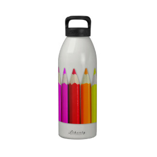 Colored Pencil Bottle Drinking Bottle