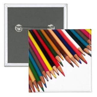 Colored Pencil Corner Button