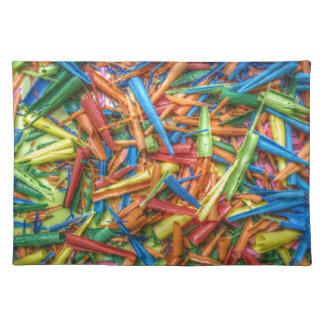 Colored Pencil Shavings Placemat