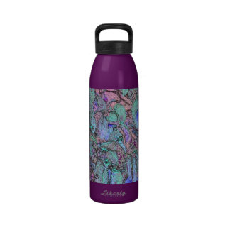 Colored Pencil Tree Leaves Drinking Bottle