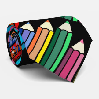 Colored Pencils 1 Tie