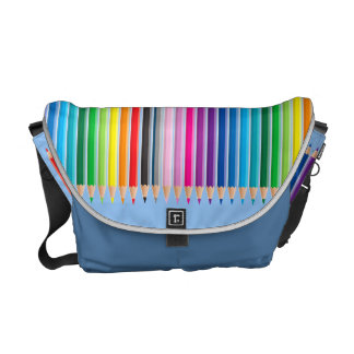 Colored Pencils Art Bag Messenger Bag