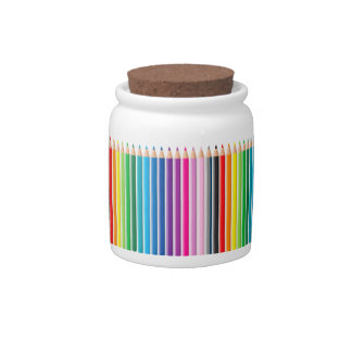 Colored Pencils Candy Dishes