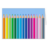 Colored Pencils Card
