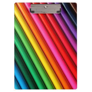 Colored Pencils Clipboards