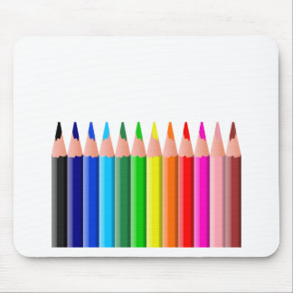 Colored Pencils, Colors, art, school Mouse Pad