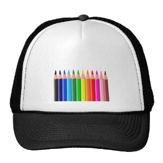 Colored Pencils, Colors, art, school Trucker Hat
