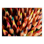 Colored Pencils Greeting Cards