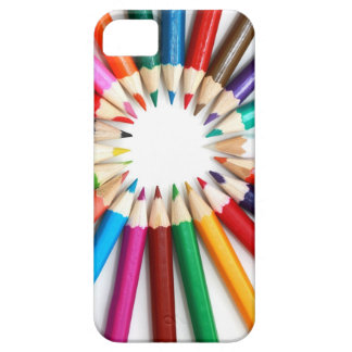 Colored Pencils Image for I Phone iPhone 5 Cases