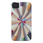 Colored Pencils iPhone 4 Case-Mate Cases