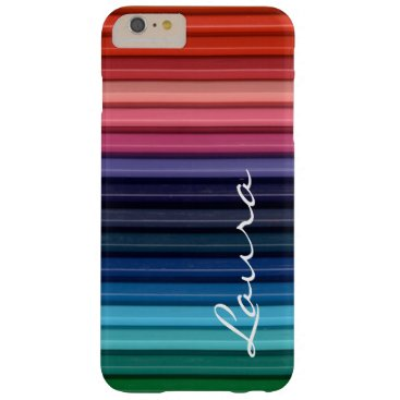 Colored Pencils iPhone 6/6S Plus Barely There Case