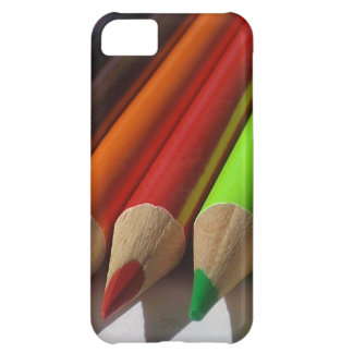 Colored Pencils Macro iPhone 5C Cover
