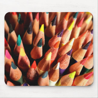 Colored Pencils Mouse Pad