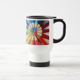 Colored Pencils - travel mug