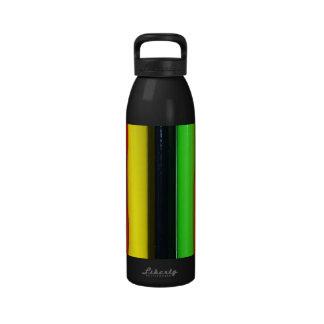 Colored Pencils Reusable Water Bottles