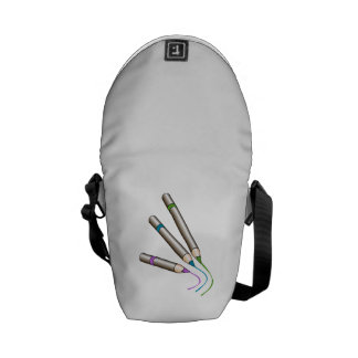 Colored Pencils Writing Messenger Bags
