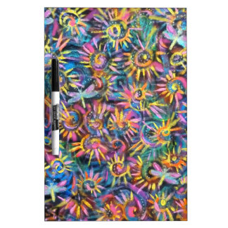 Colored Pinwheels Dry-Erase Whiteboards