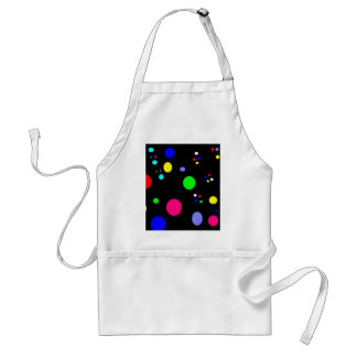 Colored Planets Adult Apron