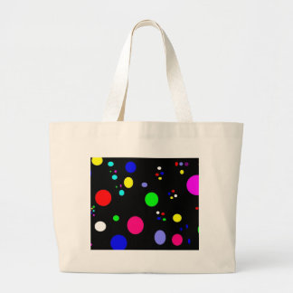 Colored Planets Canvas Bag