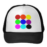 Colored Polka Dots Hat