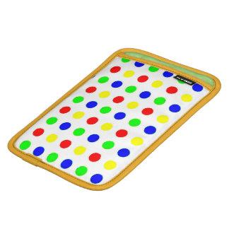 Colored Polka Dots ipad Mini Sleeve