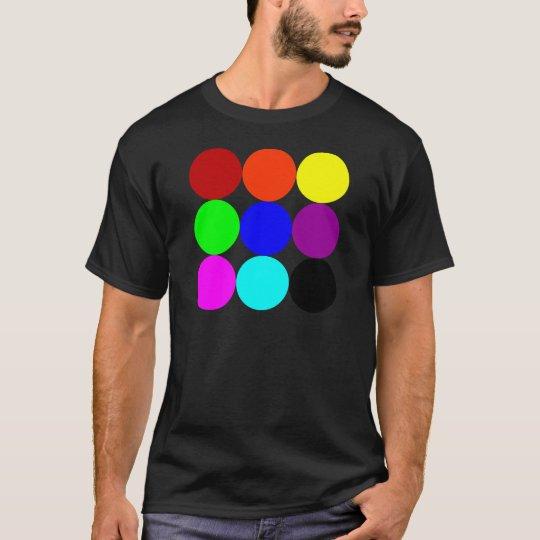 Colored Polka Dots T-Shirt