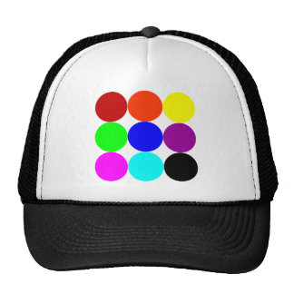 Colored Polka Dots Trucker Hat