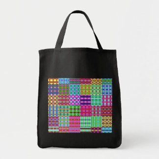 colored rags background bags