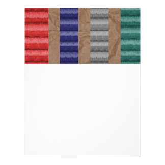 Colored Ribbed Cardboard Brown Paper