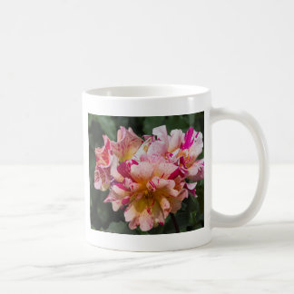 colored roses coffee mug