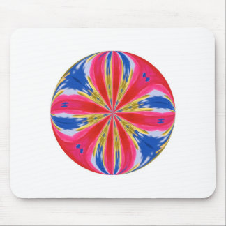 Colored round mouse pad