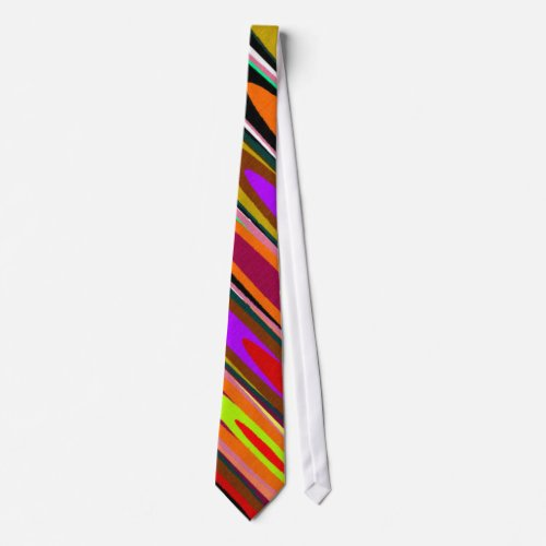 Colored Saucers Tie