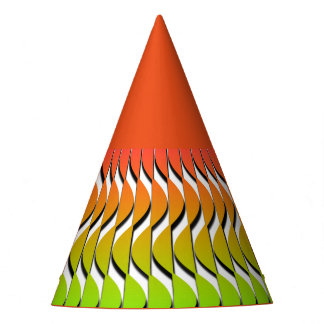 Colored Scales Party Hat
