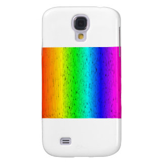 Colored Scratches Rainbow Samsung Galaxy S4 Covers