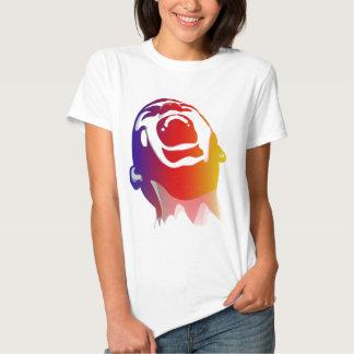 Colored Scream Tee Shirt