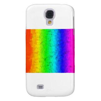 Colored Screen Rainbow Samsung Galaxy S4 Case