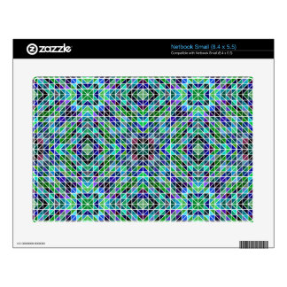 Colored seamless triangle pattern skins for netbooks