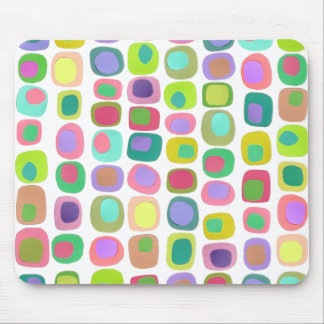 Colored Shapes Mouse Pad