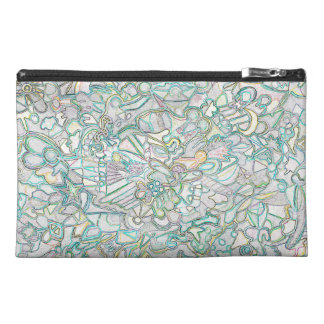 Colored Shapes Travel Accessory Bag