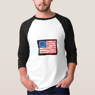Colored Sleeves Template T Shirt