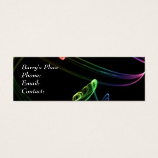 Colored Smoke Business Card