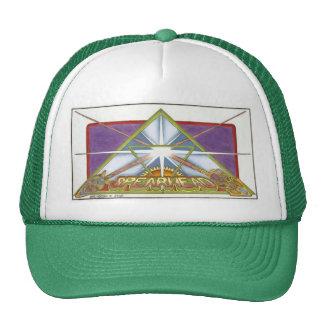 COLORED SPEARHEAD CAP TRUCKER HAT